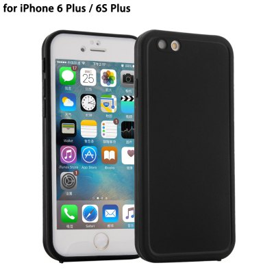 Ultra-thin Sillicone Water Resistant Phone Cover Case for iPhone 6 Plus / 6S Plus