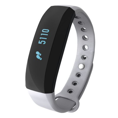 CUBOT V2 All-weather Heart Rate Monitor Smart WristbandSmart Watches<br>CUBOT V2 All-weather Heart Rate Monitor Smart Wristband<br><br>Brand: CUBOT<br>Built-in chip type: NRF51822<br>Bluetooth version: Bluetooth 4.0<br>Waterproof: Yes<br>IP rating: IP65<br>Bluetooth calling: Caller ID dispay,Callers name display<br>Messaging: Message reminder<br>Health tracker: Heart rate monitor,Pedometer,Sedentary reminder,Sleep monitor<br>Remote control function: Remote Camera<br>Notification: Yes<br>Notification type: Wechat<br>Anti-lost: Yes<br>Groups of alarm: 3<br>Alert type: Vibration<br>Other Function: Alarm<br>Screen: OLED<br>Operating mode: Touch Screen<br>Type of battery: Lithium Polymer Battery<br>Battery Capacty: 80mAh<br>People: Female table,Male table<br>Shape of the dial: Rectangle<br>Case material: Aluminium Alloy<br>Band material: TPU<br>Compatible OS: Android,IOS<br>Compatability: Android 4.3 / iOS 8.0 and Above System<br>Language: English,Simplified Chinese<br>Available color: Black,Blue,Gray<br>Product size (L x W x H): 23.50 x 2.00 x 1.30 cm / 9.25 x 0.79 x 0.51 inches<br>Package size (L x W x H): 9.80 x 9.80 x 3.00 cm / 3.86 x 3.86 x 1.18 inches<br>Product weight: 0.020 kg<br>Package weight: 0.110 kg<br>Package Contents: 1 x CUBOT V2 Smart Wristband, 1 x Charging Cable, 1 x Chinese and English User Manual