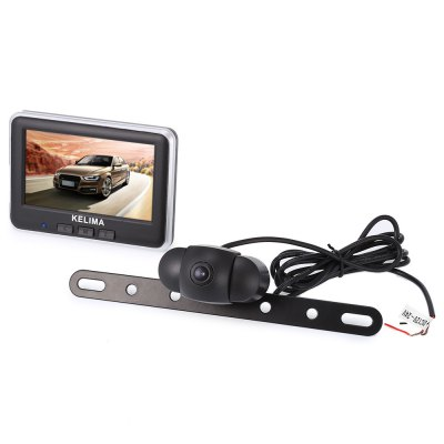 KELIMA 006 Car Rear View Camera + 4.3 inch Display