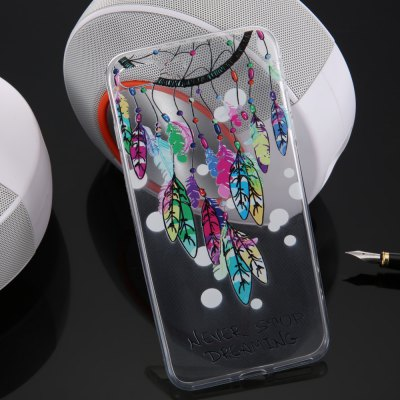 Colored Drawing TPU Soft Phone Back Case for iPhone 7 Plus