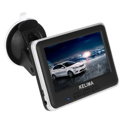 KELIMA 006 Car Rear View Camera + Wireless 4.3 inch DisplayOther Car Gadgets<br>KELIMA 006 Car Rear View Camera + Wireless 4.3 inch Display<br><br>Aspect ratio: 16:9<br>Connectivity: Wireless<br>Display Resolution: 640 x 480<br>Display screen : LCD<br>Lens angle: 120 degree<br>Other Features: 4.3 inch<br>Package Contents: 1 x KELIMA 006 Camera with 1.4m Cable, 1 x 4.3 inch Display, 1 x Car Charger with 1.5m Cable, 1 x Display Mount, 1 x English User Manual<br>Package size (L x W x H): 25.00 x 17.00 x 6.50 cm / 9.84 x 6.69 x 2.56 inches<br>Package weight: 0.490 kg<br>Power Supply: DC 12 - 24V ( input ), DC 5V 1A (output )<br>Product weight: 0.200 kg<br>Type: Rear View Camera<br>Video format: PAL, NTSC<br>Waterproof level: IP68