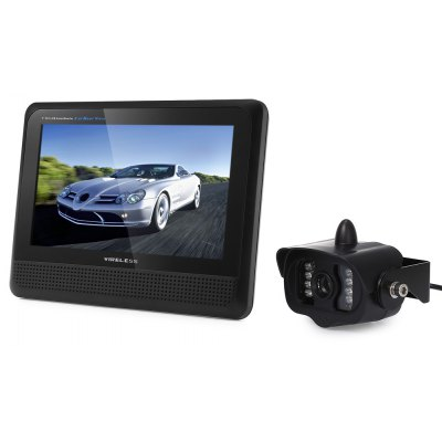 CR008 15 IR LEDs Rearview Camera + 7 inch Screen Display