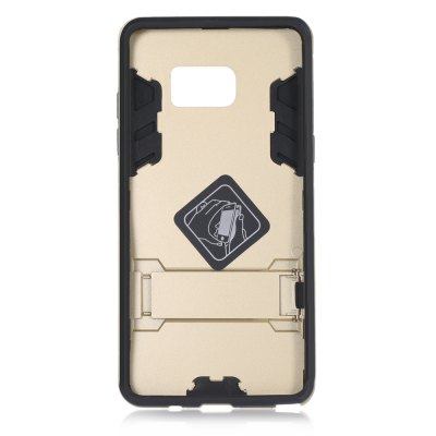 Armour Pattern Protective Phone Case for Samsung Note 7Samsung Cases/Covers<br>Armour Pattern Protective Phone Case for Samsung Note 7<br><br>Color: Gold,Gray,Silver<br>Compatible for Samsung: Samsung Galaxy Note 7<br>Features: Anti-knock, Back Cover, Cases with Stand<br>Material: PC, Silicone<br>Package Contents: 1 x Case<br>Package size (L x W x H): 22.50 x 13.00 x 2.00 cm / 8.86 x 5.12 x 0.79 inches<br>Package weight: 0.066 kg<br>Product size (L x W x H): 15.80 x 7.90 x 1.00 cm / 6.22 x 3.11 x 0.39 inches<br>Product weight: 0.029 kg<br>Style: Cool, Modern