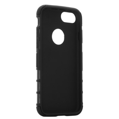 Silicone Soft Bumper Protective Phone Back Case for iPhone 7iPhone Cases/Covers<br>Silicone Soft Bumper Protective Phone Back Case for iPhone 7<br><br>Color: Black,Blue,White<br>Compatible for Apple: iPhone 7<br>Features: Anti-knock, Back Cover, Cases with Stand<br>Material: PC, Silicone<br>Package Contents: 1 x Case<br>Package size (L x W x H): 18.00 x 10.00 x 2.30 cm / 7.09 x 3.94 x 0.91 inches<br>Package weight: 0.076 kg<br>Product size (L x W x H): 14.50 x 7.30 x 1.20 cm / 5.71 x 2.87 x 0.47 inches<br>Product weight: 0.042 kg<br>Style: Cool, Modern