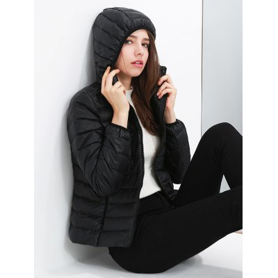 Hooded Short Down Jacket Parka for WomenJackets &amp; Coats<br>Hooded Short Down Jacket Parka for Women<br><br>Closure Type: Zipper<br>Clothes Type: Down &amp; Parkas<br>Collar: Hooded<br>Colors: Apple Green,Black,Claret,Lake blue,Red,Rose Red<br>Embellishment: Others<br>Materials: Nylon<br>Package Content: 1 x Women Down Jacket<br>Package Dimension: 60.00 x 50.00 x 20.00 cm / 23.62 x 19.69 x 7.87 inches<br>Package weight: 0.350 kg<br>Pattern Type: Others<br>Product weight: 0.300 kg<br>Seasons: Autumn,Winter<br>Shirt Length: Regular<br>Size1: 2XL,3XL,L,M,XL<br>Sleeve Length: Full<br>Style: Fashion<br>Type: Slim