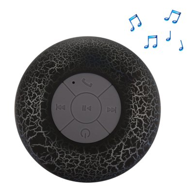 BST - 07 Waterproof Shower Bluetooth Portable Speaker