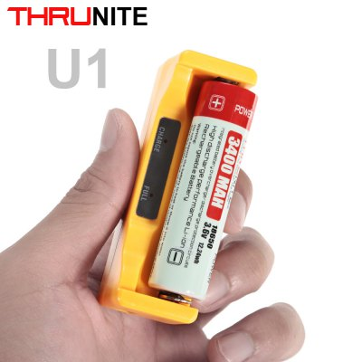 ThruNite U1 Intelligent Universal Battery Charger USB Input Output