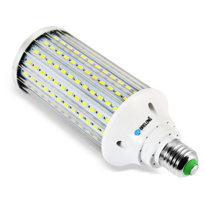 BRELONG 35W LED Corn BulbCorn Bulbs<br>BRELONG 35W LED Corn Bulb<br><br>Available Light Color: Warm White,White<br>Brand: BRELONG<br>CCT/Wavelength: 3000-3500K,6000-6500K<br>Emitter Types: SMD 5730<br>Features: Long Life Expectancy, Energy Saving<br>Function: Studio and Exhibition Lighting, Commercial Lighting, Home Lighting<br>Holder: B22,E27<br>Luminous Flux: 3500Lm<br>Output Power: 35W<br>Package Contents: 1 x BRELONG LED Corn Bulb<br>Package size (L x W x H): 8.20 x 8.20 x 21.10 cm / 3.23 x 3.23 x 8.31 inches<br>Package weight: 0.292 kg<br>Product size (L x W x H): 7.20 x 7.20 x 19.00 cm / 2.83 x 2.83 x 7.48 inches<br>Product weight: 0.240 kg<br>Sheathing Material: Aluminum<br>Total Emitters: 210<br>Type: Corn Bulbs<br>Voltage (V): 85-265V