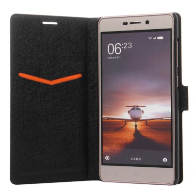 ASLING PU Leather Protective Case for Xiaomi Redmi 3 Pro