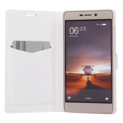 ASLING PU Leather Protective Case for Xiaomi Redmi 3 Pro / 3S