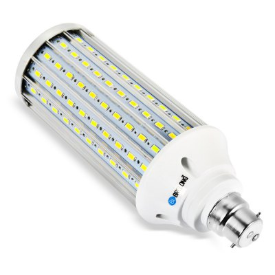 BRELONG B22 LED Corn Bulb LightCorn Bulbs<br>BRELONG B22 LED Corn Bulb Light<br><br>Available Light Color: Warm White,White<br>Brand: BRELONG<br>CCT/Wavelength: 3000-3500K,6000-6500K<br>Emitter Types: SMD 5730<br>Features: Long Life Expectancy, Energy Saving<br>Function: Studio and Exhibition Lighting, Commercial Lighting, Home Lighting<br>Holder: B22,E27<br>Luminous Flux: 3000Lm<br>Output Power: 30W<br>Package Contents: 1 x BRELONG LED Corn Bulb<br>Package size (L x W x H): 7.50 x 7.50 x 21.10 cm / 2.95 x 2.95 x 8.31 inches<br>Package weight: 0.268 kg<br>Product size (L x W x H): 6.50 x 6.50 x 18.60 cm / 2.56 x 2.56 x 7.32 inches<br>Product weight: 0.222 kg<br>Sheathing Material: Aluminum<br>Total Emitters: 160<br>Type: Corn Bulbs<br>Voltage (V): 85-265V