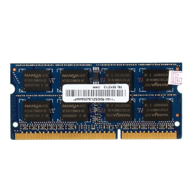 NANYA PC3 - 8500S - 7 - 10 - F2 2GB Memory BankMemory Modules<br>NANYA PC3 - 8500S - 7 - 10 - F2 2GB Memory Bank<br><br>Application: Laptop<br>Brand: NANYA<br>Capacity: 2GB<br>Memory Frequency: 1066MHz<br>Memory Transmission Type: DDR3<br>Package Contents: 1 x NANYA PC3 - 8500S - 7 - 10 - F2 DDR3 Memory Bank<br>Package Size(L x W x H): 9.50 x 4.50 x 1.10 cm / 3.74 x 1.77 x 0.43 inches<br>Package weight: 0.033 kg<br>Product Size(L x W x H): 6.80 x 3.00 x 0.10 cm / 2.68 x 1.18 x 0.04 inches<br>Product weight: 0.008 kg