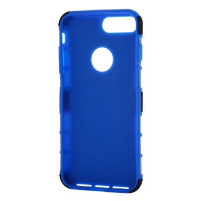 Silicone Soft Bumper Protective Phone Case for iPhone 7 PlusiPhone Cases/Covers<br>Silicone Soft Bumper Protective Phone Case for iPhone 7 Plus<br><br>Color: Black,Blue,White<br>Compatible for Apple: iPhone 7 Plus<br>Features: Anti-knock, Back Cover, Cases with Stand<br>Material: PC, Silicone<br>Package Contents: 1 x Case<br>Package size (L x W x H): 21.00 x 11.50 x 2.30 cm / 8.27 x 4.53 x 0.91 inches<br>Package weight: 0.085 kg<br>Product size (L x W x H): 16.50 x 8.40 x 1.20 cm / 6.5 x 3.31 x 0.47 inches<br>Product weight: 0.052 kg<br>Style: Cool, Modern