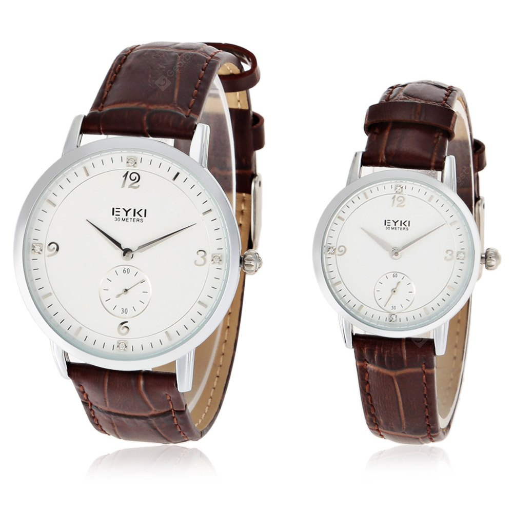 EYKI 1001 Fashion Quartz Couple Watches