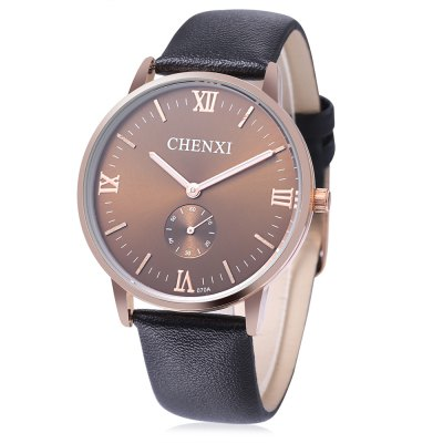 CHENXI 070A Fashion Small Dial Men Quartz Watch