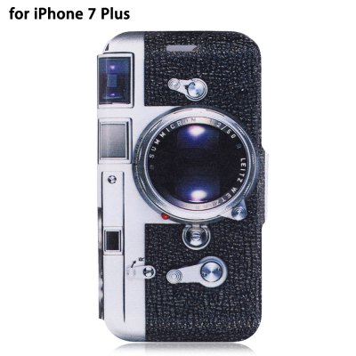 PU Leather Full Body Protective Phone Case for iPhone 7 Plus