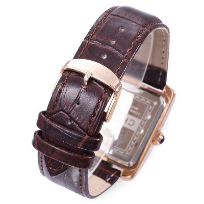 CHENXI 063A Fashion Men Small Dial Quartz WatchMens Watches<br>CHENXI 063A Fashion Men Small Dial Quartz Watch<br><br>Band material: Leather<br>Band size: 25 x 2.3 cm / 9.84 x 0.91 inches<br>Brand: Chenxi<br>Case material: Steel<br>Clasp type: Pin buckle<br>Dial size: 3.4 x 3.4 x 1 cm / 1.34 x 1.34 x 0.39 inches<br>Display type: Analog<br>Movement type: Quartz watch<br>Package Contents: 1 x CHENXI 063A Fashion Men Quartz Watch, 1 x Box<br>Package size (L x W x H): 8.50 x 8.00 x 5.30 cm / 3.35 x 3.15 x 2.09 inches<br>Package weight: 0.117 kg<br>Product size (L x W x H): 25.00 x 3.40 x 1.00 cm / 9.84 x 1.34 x 0.39 inches<br>Product weight: 0.051 kg<br>Shape of the dial: Square<br>Special features: Date<br>Watch color: Black, White, Rose Gold + Black, Rose Gold + White, Rose Gold + Brown<br>Watch style: Fashion<br>Watches categories: Male table<br>Water resistance : Life water resistant<br>Wearable length: 18.5 - 22.7 cm / 7.28 - 8.94 inches