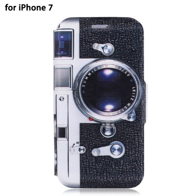 PU Leather Full Body Protective Phone Case for iPhone 7