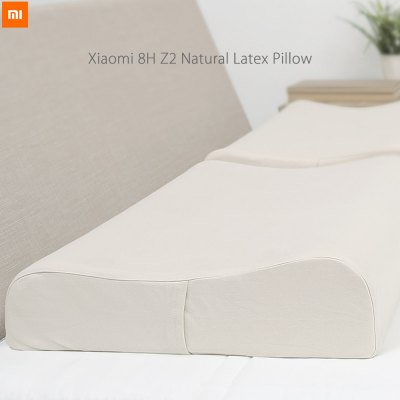 Xiaomi 8H Z2 Natural Latex Elastic Soft Pillow Neck Protection Bedroom Bedding