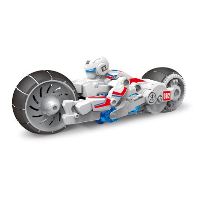 DIY Puzzle Assembly Motorbike