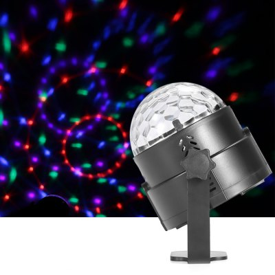 UKing ZQ - B13 8W LED Stage Light Projector RGBW Lighting Effect