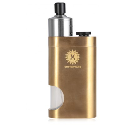 Coppervape Bf Mechanical Brass Mod Kit with Squonk
