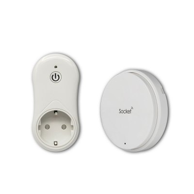 Battery - Free SIM1010 Self Powered Wireless Remote Control Socket