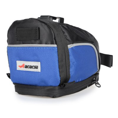 Acacia 04112 Bike Saddle BagBike Bags<br>Acacia 04112 Bike Saddle Bag<br><br>Brand: acacia<br>Emplacement: Saddle<br>For: Unisex<br>Model Number: 04112<br>Package Contents: 1 x Acacia Bicycle Saddle Bag, 1 x Pack of Accessories<br>Package Dimension: 11.00 x 18.00 x 12.00 cm / 4.33 x 7.09 x 4.72 inches<br>Package weight: 0.240 kg<br>Product Dimension: 10.00 x 17.00 x 11.00 cm / 3.94 x 6.69 x 4.33 inches<br>Product weight: 0.152 kg<br>Suitable for: Fixed Gear Bicycle, Touring Bicycle, Road Bike, Mountain Bicycle
