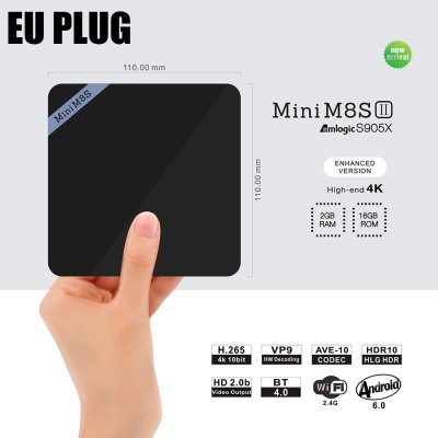 Mini M8S II Android 6.0 TV Box