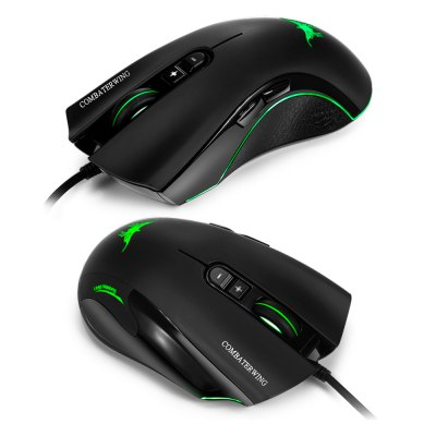 Combaterwing CW10 4800DPI Wired Gaming Mouse