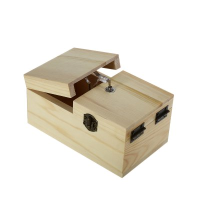 Wooden Box Electronic Machine Surprise ToyClassic Toys<br>Wooden Box Electronic Machine Surprise Toy<br><br>Features: Educational, Creative Toy<br>Materials: Metal, Wood, Other<br>Package Contents: 1 x Box Toy<br>Package size: 18.00 x 12.00 x 10.00 cm / 7.09 x 4.72 x 3.94 inches<br>Package weight: 0.300 kg<br>Product size: 15.00 x 9.00 x 7.50 cm / 5.91 x 3.54 x 2.95 inches<br>Series: Lifestyle<br>Theme: Science