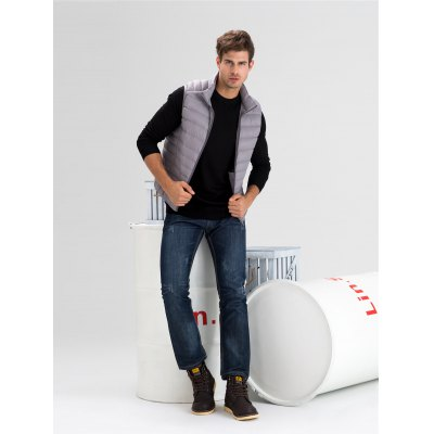 Stand-up Collar Down Vest For MenMens Jackets &amp; Coats<br>Stand-up Collar Down Vest For Men<br><br>Closure Type: Zipper<br>Clothes Type: Vest<br>Collar: Stand-Up Collar<br>Embellishment: Others<br>Filling: White Duck Down<br>Materials: Polyester<br>Package Content: 1 x Men Down Vest<br>Package Dimension: 50.00 x 35.00 x 20.00 cm / 19.69 x 13.78 x 7.87 inches<br>Package weight: 0.250 kg<br>Pattern Type: Others<br>Product weight: 0.200 kg<br>Seasons: Winter<br>Shirt Length: Regular<br>Size1: 2XL,3XL,L,M,XL<br>Sleeve Length: Sleeveless<br>Style: Fashion, Active, Streetwear, Casual<br>Thickness: Medium thickness<br>Type: Slim