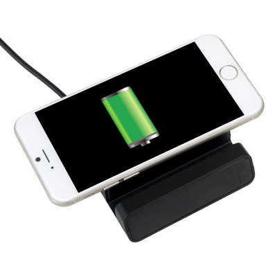Qi Wireless Charger Transmitter Power Adapter Phone Charging Stand
