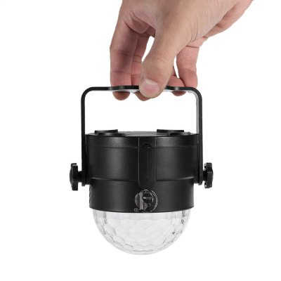 UKing ZQ - B17 Mini Crystal Ball LightStage Lighting<br>UKing ZQ - B17 Mini Crystal Ball Light<br><br>Brand: UKing<br>Model: ZQ-B17<br>Type: LED Effects Stage Light<br>Total Emitters: 3<br>Beam Distance (m): 50-60<br>Illumination Field (sq.m.): 60-80<br>Number of Batteries: 800mAh Li-polymer battery<br>Output Power (W): 6W<br>Voltage Type: DC 5V<br>Lifespan (hour): 10000h<br>Function: For Decoration,For party<br>Shape: Ball Light<br>Body Color: Black,Orange,Silver<br>Material: ABS<br>Product weight: 0.160 kg<br>Package weight: 0.261 kg<br>Product Size(L x W x H): 10.00 x 8.50 x 8.50 cm / 3.94 x 3.35 x 3.35 inches<br>Package size (L x W x H): 11.00 x 10.00 x 12.00 cm / 4.33 x 3.94 x 4.72 inches<br>Package Contents: 1 x LED Stage Light, 1 x USB Cable, 1 x English Manual