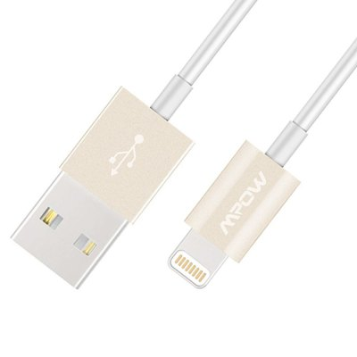 MPOW 8 Pin to USB 2.0 Data Transfer and Charging Cable - 1m
