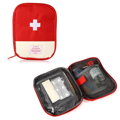 Portable Water-resistant First Aid Pouch Emergency BagOther Survival and Emergency Gears<br>Portable Water-resistant First Aid Pouch Emergency Bag<br><br>Best Use: Adventures,First Aid,Home use<br>Closure Type: One-way Zipper Closure<br>Features: Multi-pouches, Portable<br>Material: Oxford Fabric<br>Package Content: 1 x First Aid Pouch<br>Package Dimension: 18.00 x 14.00 x 1.00 cm / 7.09 x 5.51 x 0.39 inches<br>Package weight: 0.0750 kg<br>Product Dimension: 17.50 x 13.50 x 2.00 cm / 6.89 x 5.31 x 0.79 inches<br>Product weight: 0.0400 kg