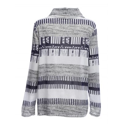 Women Knitted Wrap CardiganSweaters &amp; Cardigans<br>Women Knitted Wrap Cardigan<br><br>Collar: Turn-down Collar<br>Materials: Cotton<br>Package Content: 1 x Women Cardigan<br>Package Dimension: 30.00 x 25.00 x 2.00 cm / 11.81 x 9.84 x 0.79 inches<br>Package weight: 0.230 kg<br>Product weight: 0.204 kg<br>Type: Cardigans
