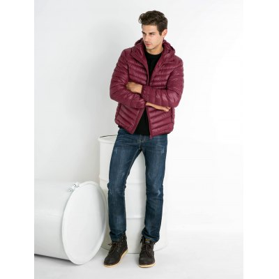 Ultralight Hooded Down Jacket for MenMens Jackets &amp; Coats<br>Ultralight Hooded Down Jacket for Men<br><br>Closure Type: Zipper<br>Clothes Type: Down Coat<br>Collar: Hooded<br>Embellishment: Others<br>Filling: White Duck Down<br>Materials: Polyester<br>Package Content: 1 x Men Hooded Down Jacket<br>Package Dimension: 50.00 x 40.00 x 20.00 cm / 19.69 x 15.75 x 7.87 inches<br>Package weight: 0.390 kg<br>Pattern Type: Others<br>Product weight: 0.320 kg<br>Seasons: Winter<br>Shirt Length: Regular<br>Size1: 2XL,3XL,L,M,XL<br>Sleeve Length: Long Sleeves<br>Style: Fashion, Active, Streetwear, Casual<br>Thickness: Medium thickness<br>Type: Slim