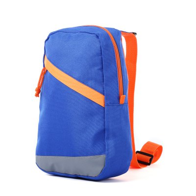 3L Lightweight Polyester Leisure Sling Bag with Reflective Stripe