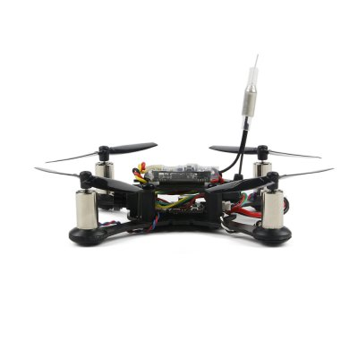 Smart 100 100mm Brushed RC Racing Drone - PNPMulti Rotor Parts<br>Smart 100 100mm Brushed RC Racing Drone - PNP<br><br>Battery (mAh): 3.7V 550mAh 25C LiPo<br>Channel: No Transmitter<br>Charging Time.: about 40 minutes<br>Flying Time: 5-7mins<br>Model Power: 1 x Lithium battery(included)<br>Package Contents: 1 x Carbon Fiber Frame, 1 x Flight Controller, 1 x FPV System ( with Camera and Transmitter ), 4 x Motor, 20 x Propeller, 1 x Battery, 1 x DSM2 Receiver, 1 x Pack of Accessories<br>Package size (L x W x H): 21.00 x 11.00 x 3.50 cm / 8.27 x 4.33 x 1.38 inches<br>Package weight: 0.190 kg<br>Product size (L x W x H): 10.00 x 10.00 x 5.00 cm / 3.94 x 3.94 x 1.97 inches<br>Product weight: 0.050 kg<br>Type: Frame Kit<br>Video Resolution: 600TVL ( horizontal resolution )