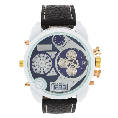 JUBAOLI 1153 Casual White Case Men Quartz WatchMens Watches<br>JUBAOLI 1153 Casual White Case Men Quartz Watch<br><br>Available Color: Blue,Orange,Red,Yellow<br>Band material: Leather<br>Band size: 26.5 x 2.4 cm / 10.43 x 0.94 inches<br>Brand: Jubaoli<br>Case material: Alloy<br>Clasp type: Pin buckle<br>Dial size: 5 x 5 x 1.2 cm / 1.97 x 1.97 x 0.47 inches<br>Display type: Analog<br>Movement type: Quartz watch<br>Package Contents: 1 x JUBAOLI 1153 Casual Men Quartz Watch, 1 x White Strap<br>Package size (L x W x H): 27.50 x 6.00 x 2.20 cm / 10.83 x 2.36 x 0.87 inches<br>Package weight: 0.110 kg<br>Product size (L x W x H): 26.50 x 5.00 x 1.20 cm / 10.43 x 1.97 x 0.47 inches<br>Product weight: 0.073 kg<br>Shape of the dial: Round<br>Special features: Date<br>Watch style: Casual<br>Watches categories: Male table<br>Water resistance : Life water resistant<br>Wearable length: 19.8 - 24 cm / 7.80 - 9.45 inches