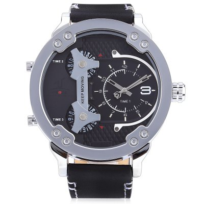 WEIDE 1506 Men Silver Color Case Sports Quartz WatchMens Watches<br>WEIDE 1506 Men Silver Color Case Sports Quartz Watch<br><br>Available Color: Black,White<br>Band material: Genuine Leather<br>Band size: 27 x 2.4 cm / 10.63 x 0.94 inches<br>Brand: Weide<br>Case material: Stainless Steel<br>Clasp type: Pin buckle<br>Dial size: 5.3 x 5.3 x 1.7 cm / 2.09 x 2.09 x 0.67 inches<br>Display type: Analog<br>Movement type: Quartz watch<br>Package Contents: 1 x WEIDE 1506 Sports Men Quartz Watch, 1 x Box<br>Package size (L x W x H): 7.50 x 7.50 x 7.50 cm / 2.95 x 2.95 x 2.95 inches<br>Package weight: 0.203 kg<br>Product size (L x W x H): 27.00 x 5.30 x 1.70 cm / 10.63 x 2.09 x 0.67 inches<br>Product weight: 0.112 kg<br>Shape of the dial: Round<br>Watch style: Trends in outdoor sports<br>Watches categories: Male table<br>Water resistance : 30 meters<br>Wearable length: 20.3 - 24.5 cm / 7.99 - 9.65 inches