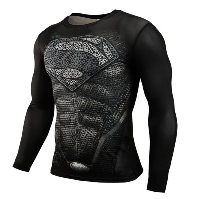 Men Compression Tight T Shirt