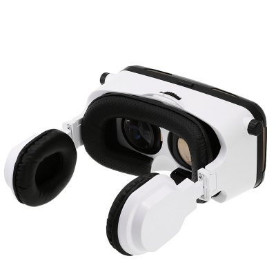 GEPRO VR Virtual Reality 3D Glasses with Foldable Earphones