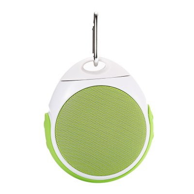 Wireless Bluetooth 3.0 SpeakerSpeakers<br>Wireless Bluetooth 3.0 Speaker<br><br>Design: Classical<br>Compatible with: iPhone,iPod,Laptop,Mobile phone,MP3,MP4,MP5,PC,PSP,Tablet PC,TF/Micro SD Card,XiaoMi Mi TV 3,XiaoMi Mi TV Mainboard<br>Supports: Hands-free Calls,Volume Control<br>Connection: Wireless<br>Interface: 3.5mm Audio,TF Card Slot<br>Audio Source: Bluetooth Enabled Devices,Electronic Products with 3.5mm Plug<br>Speaker Impedance: 2 ohm<br>Bluetooth Version: V3.0<br>Number of Speakers: 1<br>Sound channel: Mono<br>Freq: 100Hz-18kHz<br>S/N: 75dB<br>Working Voltage: 5V<br>Battery Capacity: 300mAh<br>Charging Time: 3h<br>Working Time: 6h<br>Product weight: 0.162 kg<br>Package weight: 0.315 kg<br>Product size (L x W x H): 9.50 x 11.00 x 4.30 cm / 3.74 x 4.33 x 1.69 inches<br>Package size (L x W x H): 14.30 x 13.10 x 5.50 cm / 5.63 x 5.16 x 2.17 inches<br>Package Contents: 1 x Wireless Bluetooth 3.0 Speaker, 1 x Portable Loop, 1 x Speaker Holder, 1 x English Manual