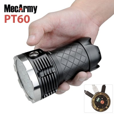 MecArmy PT60 LED Searchlight