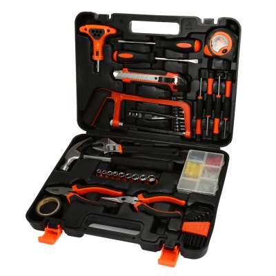 ELECALL ET - DZ82 Professional Household Tool Repairing KitOther Tools<br>ELECALL ET - DZ82 Professional Household Tool Repairing Kit<br><br>Brand: ELECALL<br>Material: Stainless Steel<br>Model: ET - DZ82<br>Package Contents: 1 x Professional Household Tool Repairing Kit<br>Package size (L x W x H): 37.00 x 29.00 x 9.00 cm / 14.57 x 11.42 x 3.54 inches<br>Package weight: 2.730 kg<br>Product size (L x W x H): 35.00 x 26.00 x 7.00 cm / 13.78 x 10.24 x 2.76 inches<br>Product weight: 2.685 kg<br>Special Functions : Professional Household Tool Repairing Kit<br>Type: Hand tools
