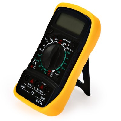 XL8301 1.75 inch LCD Handheld Digital MultimeterMultimeters &amp; Fitting<br>XL8301 1.75 inch LCD Handheld Digital Multimeter<br><br>Model: XL8301<br>Package Contents: 1 x Digital Multimeter, 2 x Test Probe, 1 x English Manual<br>Package size (L x W x H): 14.50 x 9.60 x 5.00 cm / 5.71 x 3.78 x 1.97 inches<br>Package weight: 0.2830 kg<br>Product size (L x W x H): 13.80 x 6.90 x 3.10 cm / 5.43 x 2.72 x 1.22 inches<br>Product weight: 0.1980 kg<br>Type: Digital Multimeter