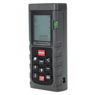 HUAYI MS6460 60m Handheld Laser Distance MeterLaser Rangefinder, Electronic Distance Meter<br>HUAYI MS6460 60m Handheld Laser Distance Meter<br><br>Area Measurement: Yes<br>Brand: HUAYI<br>Color: Green<br>Continuous Measurement: Yes<br>Detection Range (Meter): 0-60<br>Model: MS6460<br>Package Contents: 1 x Handheld Laser Distance Meter ( with Battery ), 1 x Pouch Bag, 1 x Holding Rope, 1 x English User Manual<br>Package size (L x W x H): 17.00 x 12.00 x 6.50 cm / 6.69 x 4.72 x 2.56 inches<br>Package weight: 0.2700 kg<br>Product size (L x W x H): 11.60 x 5.00 x 2.30 cm / 4.57 x 1.97 x 0.91 inches<br>Product weight: 0.1080 kg<br>Pythagoras Measurement: Yes<br>Volume Measurement: Yes