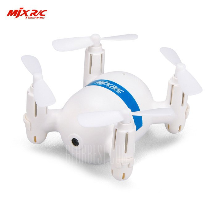 MjxR/C Technic X929H Mini Remote Control Quadcopter WHITE